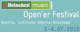 Pearl Jam w Gdyni, 1. lipca, Open'er Festival